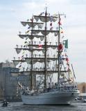 CUAUHTEMOC - meksykański bark szkolny na regatach wielkich żaglowców regat wielkich żaglowców The Tall Ships Races