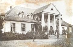 Княже – родовое поместье Цибульских.  Снимок сделан во время немецкой оккупации