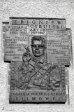 Мемориальная доска  Збигневу Цибульскому  на Вроцлавской студии  художественных фильмов