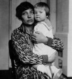 Збышек Цибульский с матерью