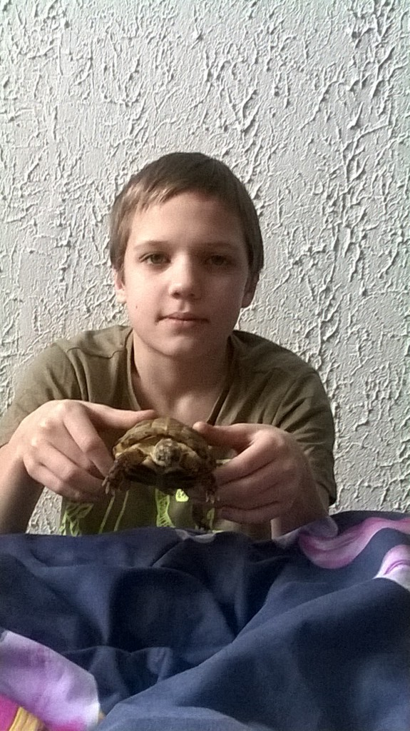 MGP 2.Boria Dołgow z żółwiem