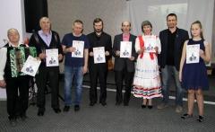 Вручение дипломов от Краевого общества по увековечению памяти губернатора И.И. Крафта.